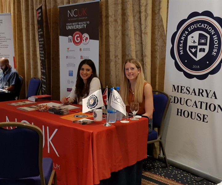 It was our pleasure to take part in this event as Mesarya Education House. Students and parents coming from all around Cyprus got a great opportunity to chat with us and learn more about MEH, NCUK and our partner universities.